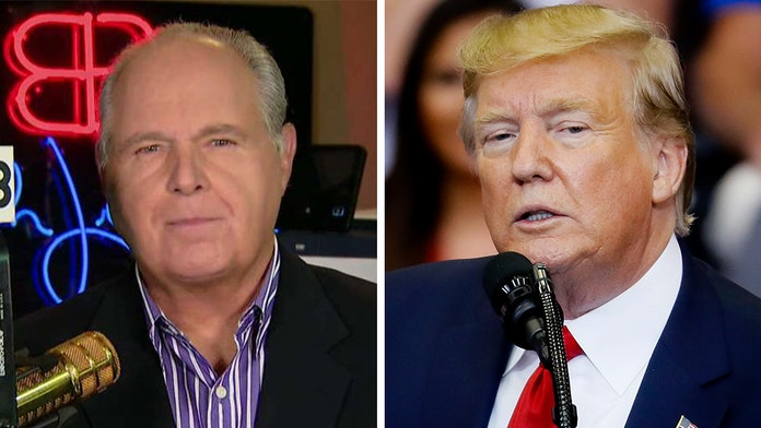 Rush Limbaugh urges Trump to not compromise with Democrats on guns
