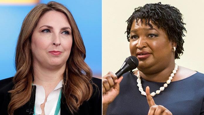 "RNC chairwoman responds to Democrat Stacey Abrams' claim of RNC plans to intimidate voters: ""Flat-out lie"""