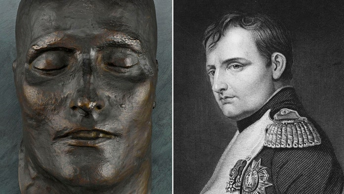 Napoleon's bronze death mask still shrouded in mystery almost 200 years later
