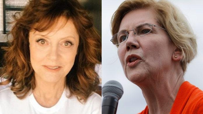 Susan Sarandon appears to take shot at Warren during Sanders event