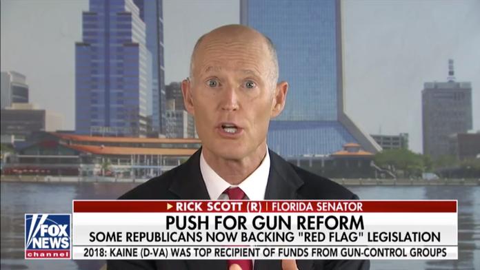 Sen. Rick Scott on gun control push: Focus on mental health, not taking guns from law-abiding citizens