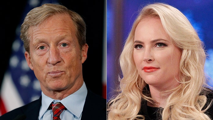 Meghan McCain dismisses Tom Steyer: 'You have not proven that you can inspire people' to elect you