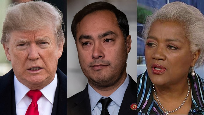 Donna Brazile to Joaquin Castro and Trump: 'Stop it,' volume must be lowered on both sides