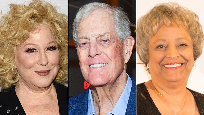 Bette Midler lobs profane attack at leading conservative who honored 'friend' David Koch