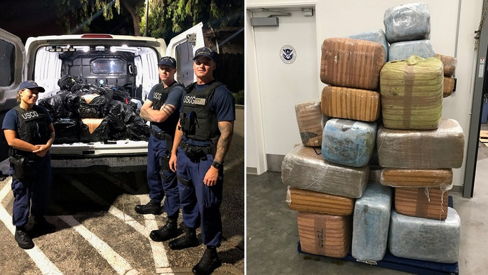 1,300 pounds of marijuana found floating off California: Coast Guard