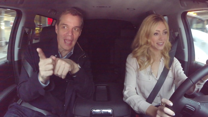 Watch: Abby Hornacek drives Bill Hemmer to work in Fox Nation's latest series 'Ride to Work'
