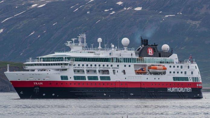 Cruise line scrambles to reschedule passengers after Russia denies access to Arctic waters at 'last minute'