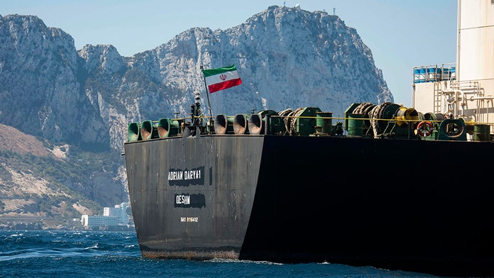 Iranian supertanker that US tried to seize is now heading toward Greece