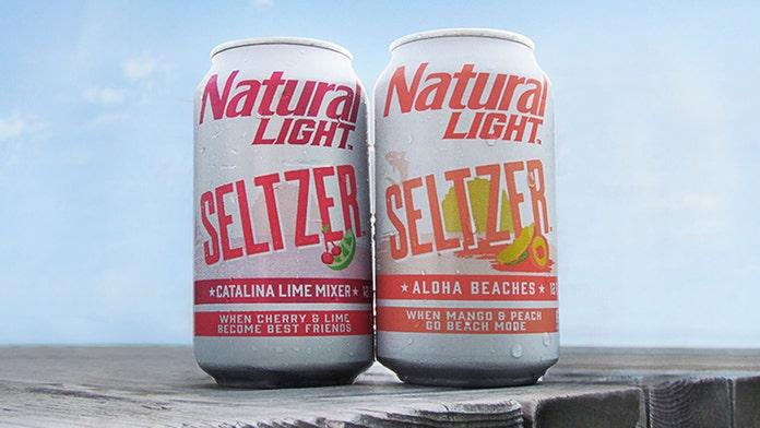 PBR, Natural Light, Four Loko release trendy hard seltzers, a millennial favorite