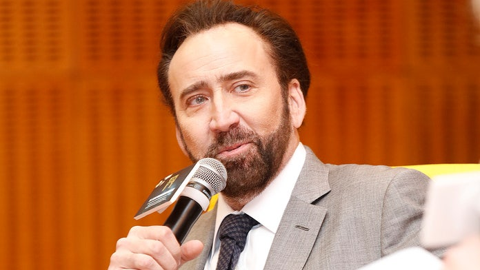 Nicolas Cage on $276G dinosaur skull, karaoke and hunt for holy grail: 'I'm trying to invent my own mythology'