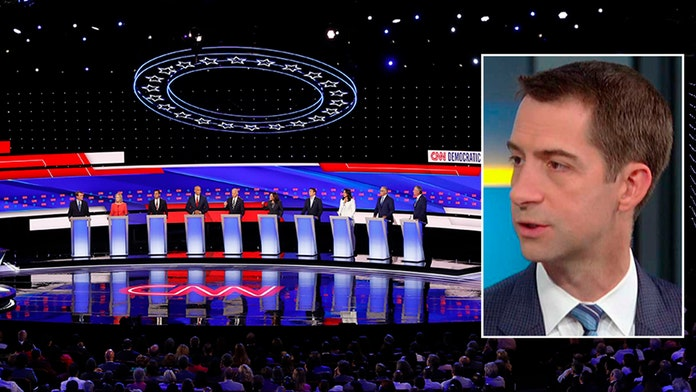 Sen. Cotton on Dems blasting Trump over green card rule: They're 'deranged by the president'