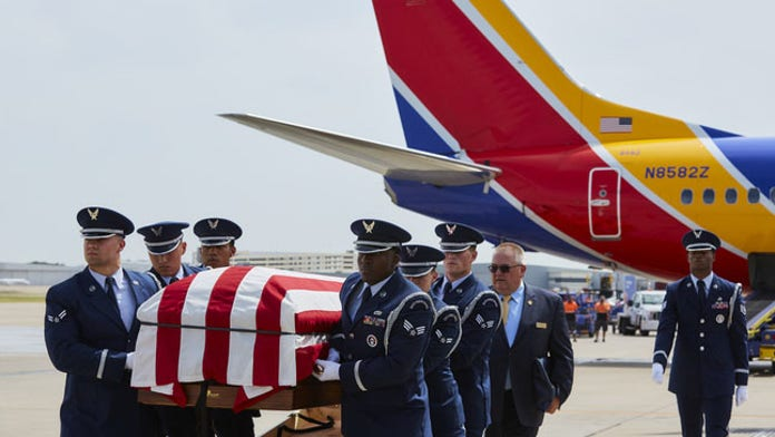 Vietnam vet's remains identified, flown home by son 52 years later in emotional ceremony