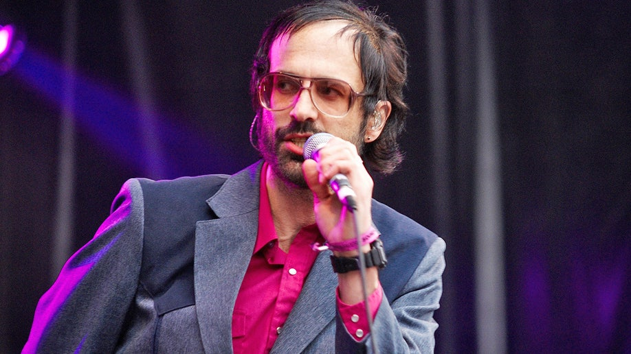 David Berman performs with the Silver Jews at the Primavera Sound Festival in Barcelona, Spain, on May 31, 2008. Berman died by suicide in August 2019 at age 52. SPAIN - MAY 31: PRIMAVERA SOUND Photo of SILVER JEWS and David BERMAN, David Berman performing on stage (Photo by Gary Wolstenholme/Redferns)