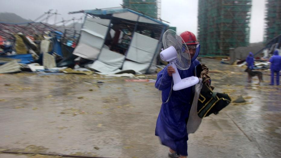 Typhoon Lekima strikes China's east coast, kills at least 22 | Fox News
