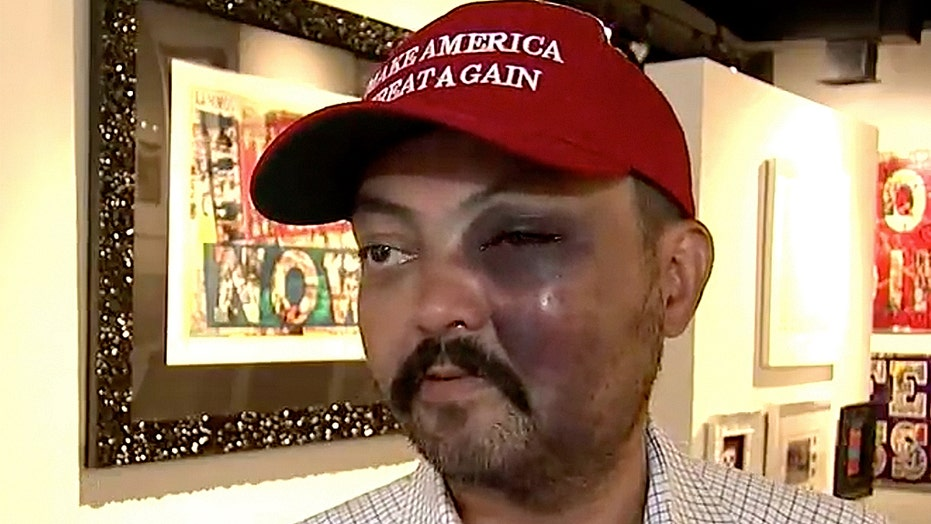 Man says he was attacked for wearing 'Make America Great Again' hat
