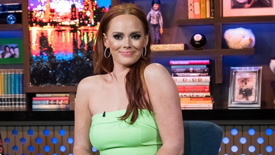 'Southern Charm' star Kathryn Dennis stuns in gold bikini, says she's 'not ashamed' of her stretch marks