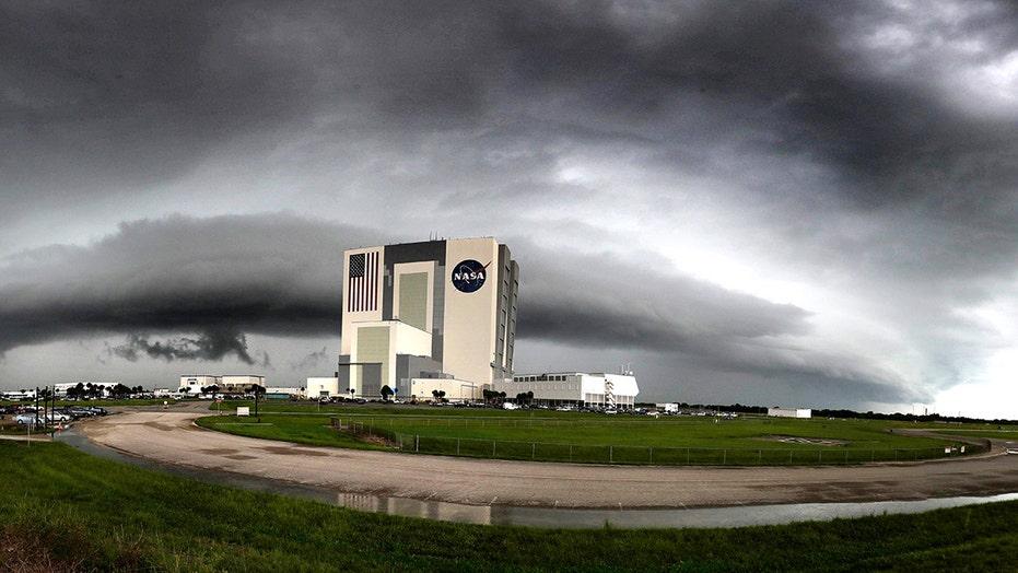 Hurricane Dorian's eye moves over Hatteras, North Carolina