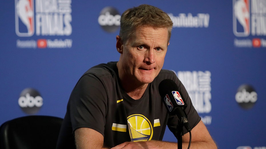 Steve Kerr dismisses 'defund the police' despite backing bill to remove officers from Oakland schools