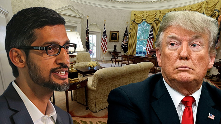 Former Google engineer says search giant wants Trump to lose in 2020