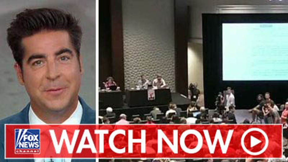 Jesse Watters on Democratic Socialists of America convention disruption