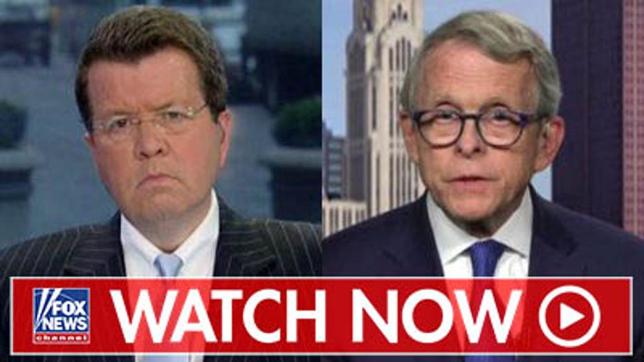 Gov. Mike DeWine pushes for Ohio gun control laws
