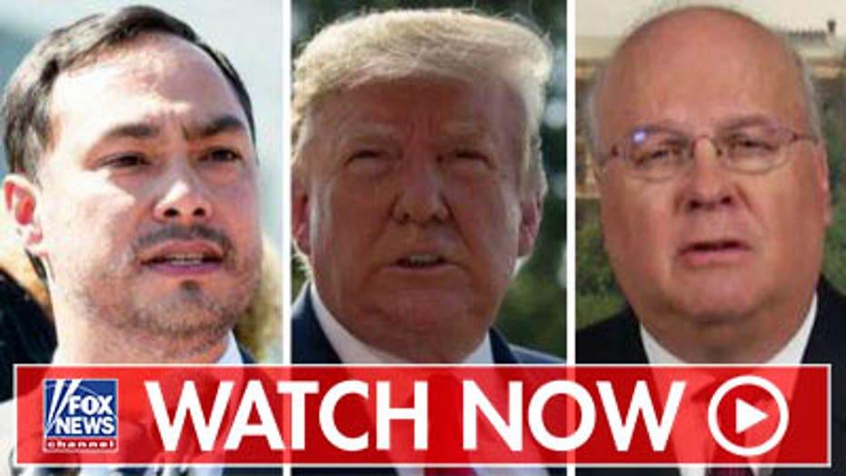 Karl Rove responds to Joaquin Castro's Trump donor list