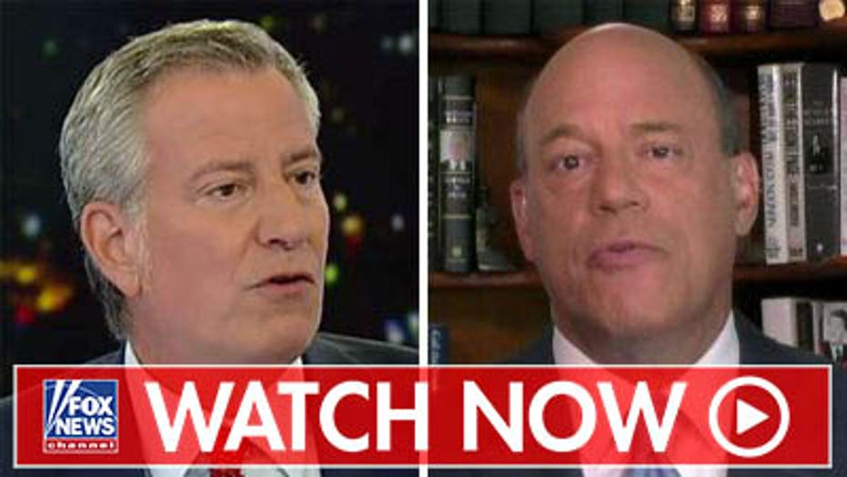 Ari Fleischer reacts to de Blasio tax plan