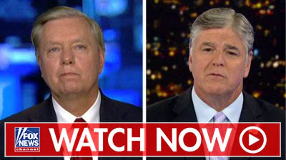 Lindsey Graham reacts to Bruce Ohr 302 news