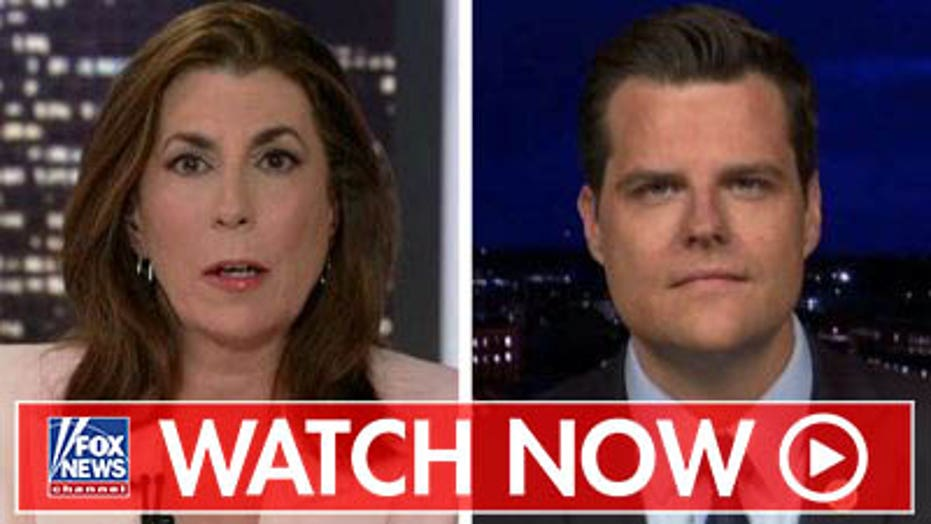 Gaetz reacts to attacks on Trump over El Paso shooting