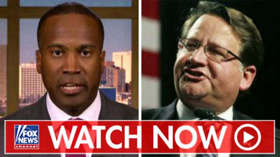 John James criticizes Sen. Gary Peters as election heats up