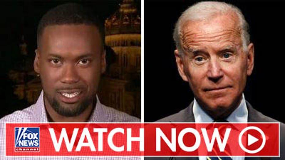 Lawrence Jones discusses Joe Biden's candidacy