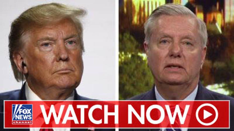 Lindsey Graham reacts to Trump's tough stance on China