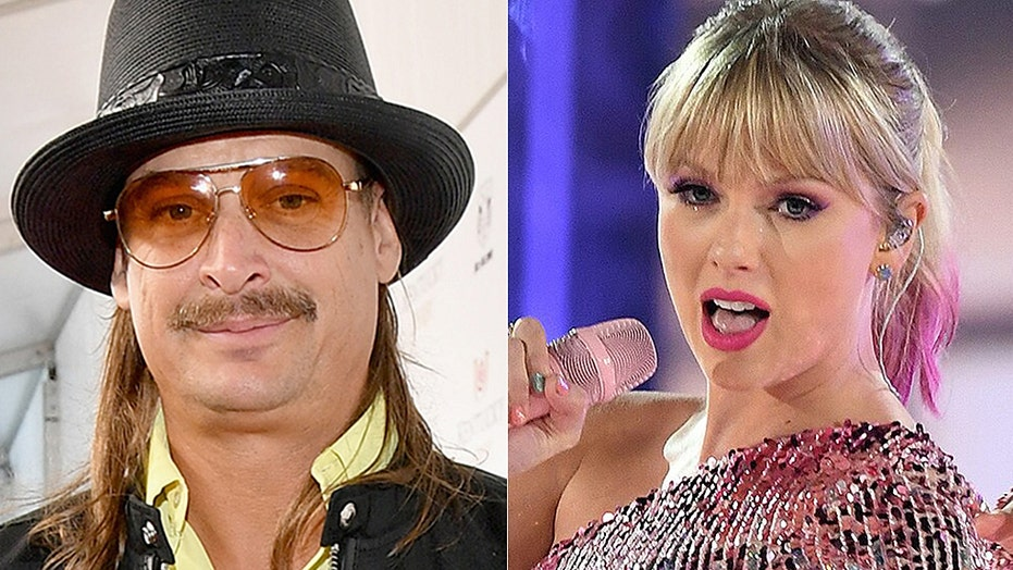 Kid Rock slams Taylor Swift for siding with Democrats: 'She wants to be in movies