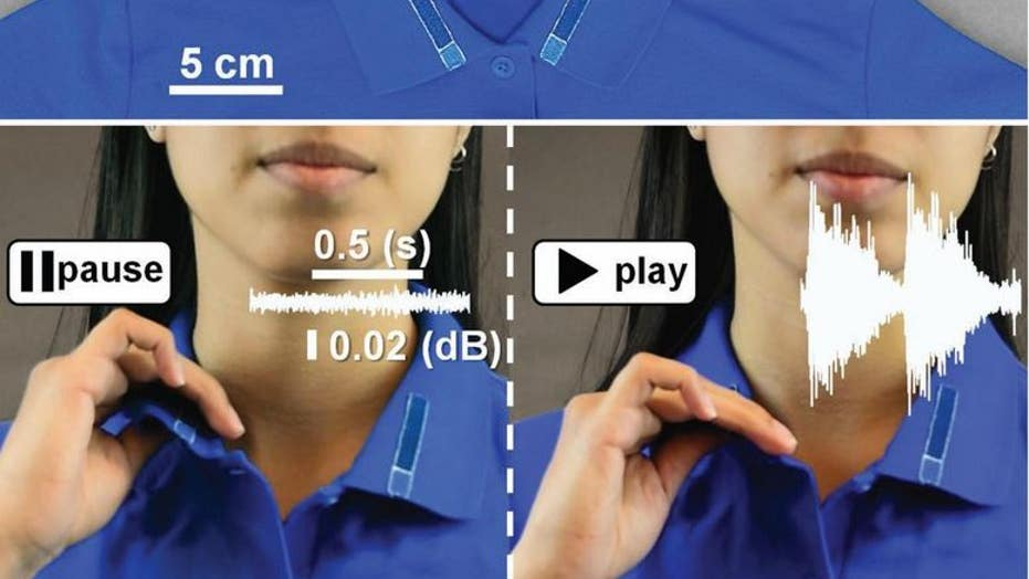 High-tech clothing lets you turn on electronics and repel ... on