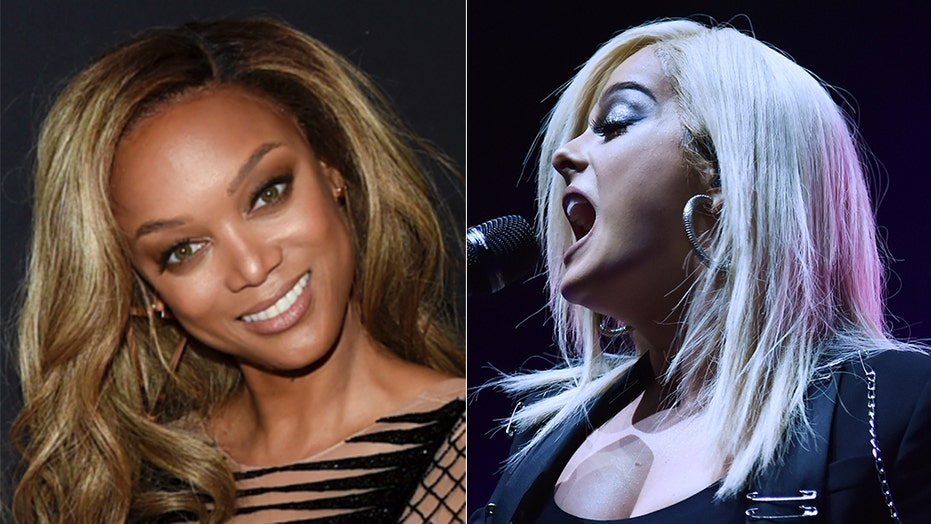 Image result for Tyra Banks Defends Bebe Rexha After Music Executive Claims The Singer Is 'Too Old' To Post Sexy Snaps