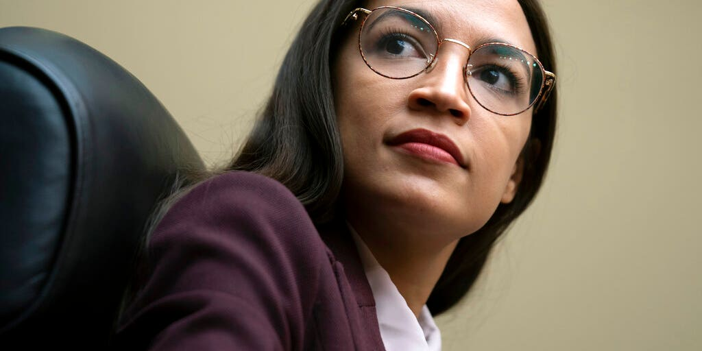 Image result for AOC called out after claiming Trump food-stamp revisions might have left her family 'starved'