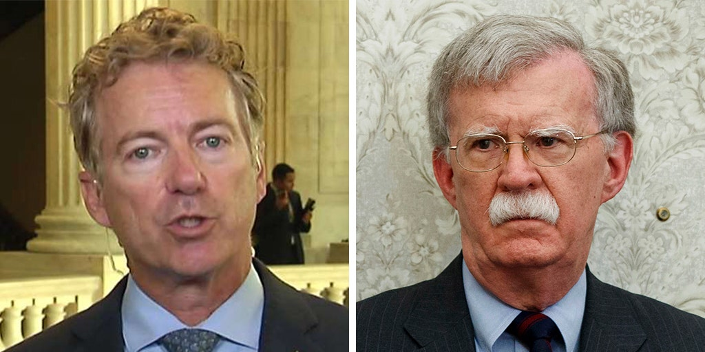 Rand Paul slams John Bolton for 'naive point of view for the world'