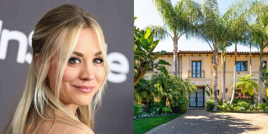 Kaley Cuoco lists Los Angeles home, once owned by Khloe Kardashian, for $4.9 million