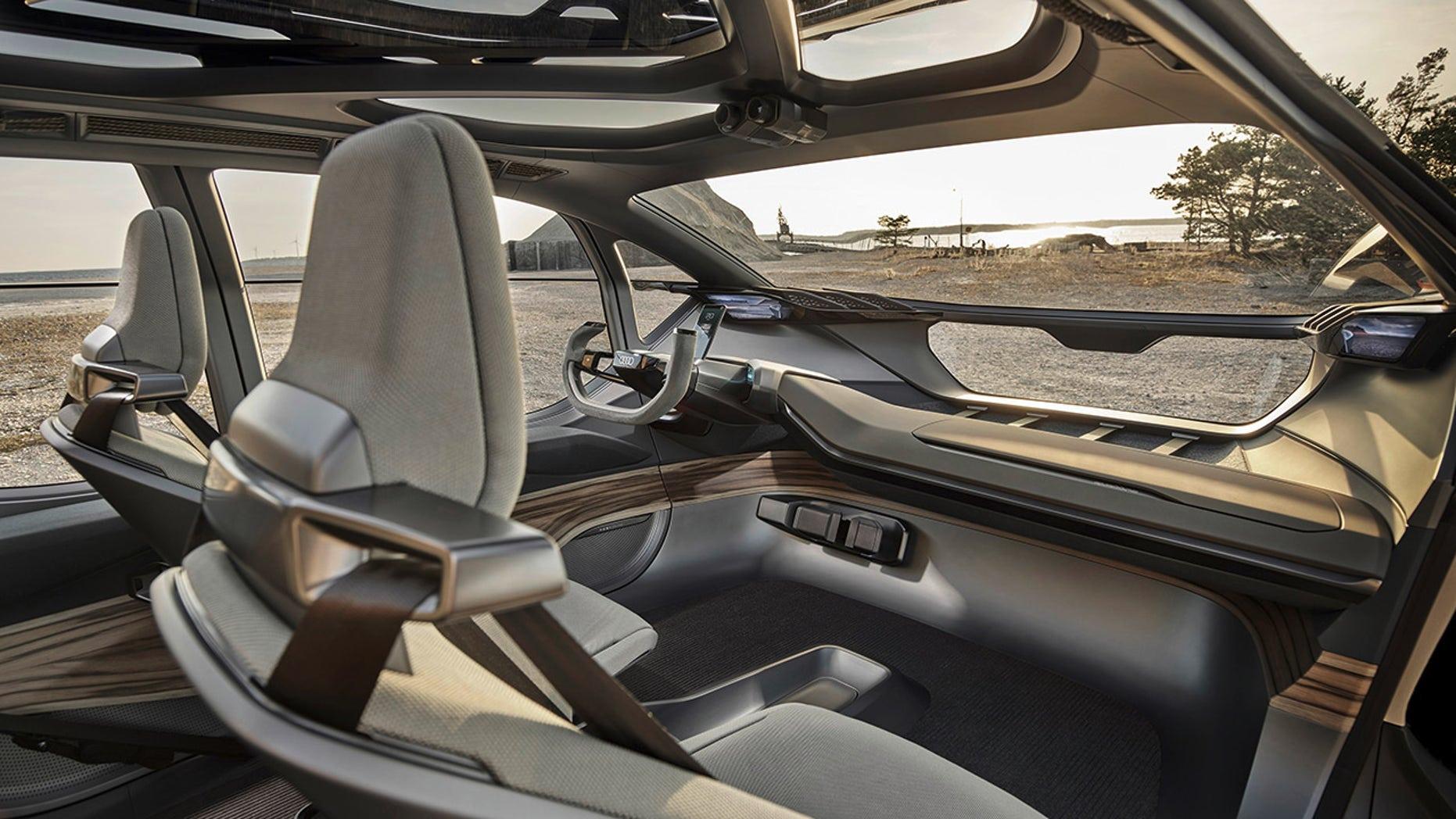 Audi AI: Trail interior