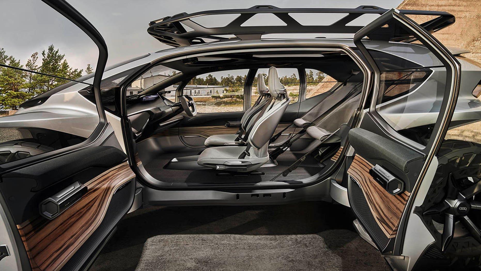 Audi AI: Trail side view