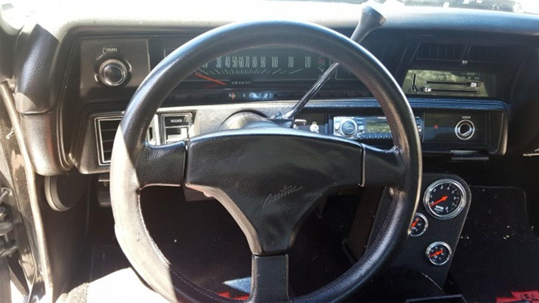 Sammy Hagar's 1970 Chevrolet El Camino interior