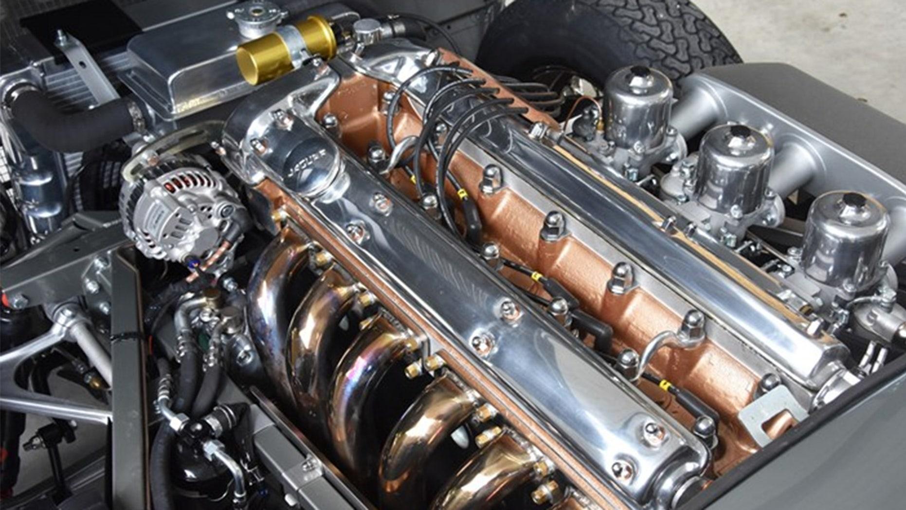 1964 Jaguar E-Type engine