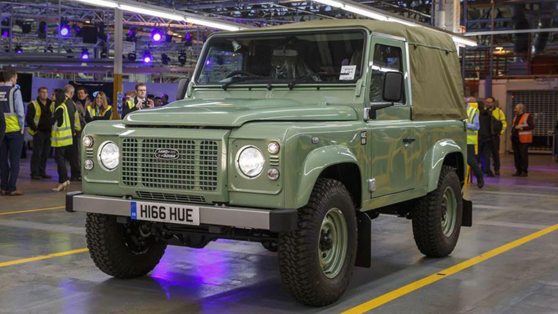 Classic Land Rover Defender