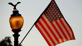 51-star American flags line Pennsylvania Avenue as Washington, D.C. seeks statehood