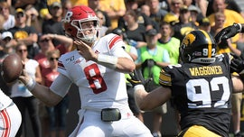 Rutgers quarterback receives celebratory punch in the face after touchdown pass