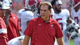 Alabama's Nick Saban says top recruit has 'basically quit'
