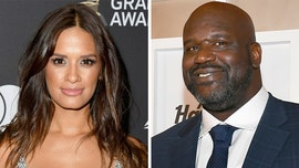 Shaquille O'Neal spends nearly entire interview flirting with TV host Rocsi Diaz