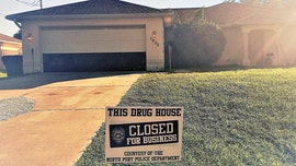 Florida police department warns drug dealers with signs saying 'closed for business'