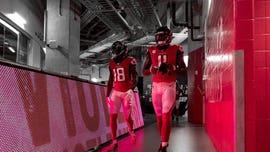 Falcons鈥� Julio Jones hits 20 mph during touchdown run
