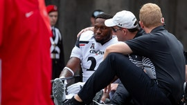 Cincinnati player collapses on field during Ohio State game